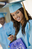 Graduate with Gift Bag