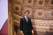 Rick Santorum takes the stage to speak during day two of the Conservative Political Action Conference (CPAC) at the Gaylord National Resort & Convention Center in National Harbor, Md.