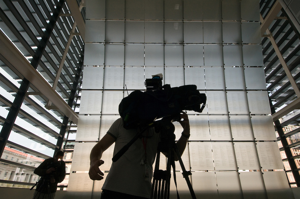 Cameraman recording