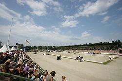 Dressage arena<br /> Grand Prix Kür Nationscup<br /> Falsterbo Horse Show 2009<br /> © Hippo Foto - Leanjo de Koster