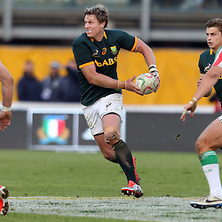 PADUA, ITALY - NOVEMBER 22: Jean de Villiers (captain) of South Africa during the Castle Lager Outgoing Tour match between Italy and South African at Stadio Euganeo on November 22, 2014 in Padua, Italy. (Photo by Steve Haag/Gallo Images)