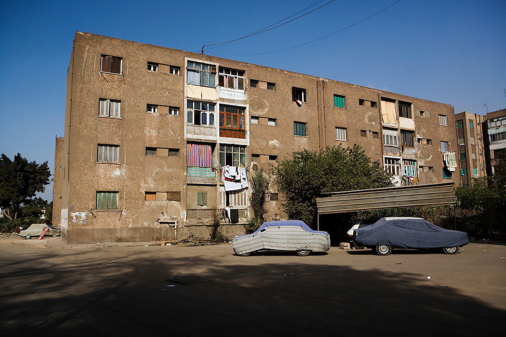 In Helwan, an industrial suburb of Cairo.