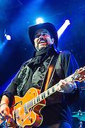 Raul Malo of The Mavericks perfomring at Old Settler's Music Festival, Austin, Texas, April 17, 2015.