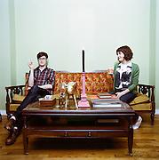 Roommates in Brooklyn, New York. 2008