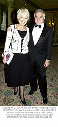 Leading PR CAROLINE NEVILLE and her husband MR JOE McCARTHY, at a ball in London on 18th June 2001.	OPL 2