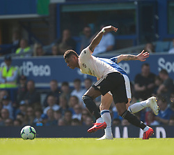 Marcus Rashford of Manchester United (L) in action - Mandatory by-line: Jack Phillips/JMP - 21/04/2019 - FOOTBALL - Goodison Park - Liverpool, England - Everton v Manchester United - English Premier League