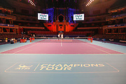 General stadium view inside The Royal Albert Hall during the Champions Tennis match at the Royal Albert Hall, London, United Kingdom on 6 December 2018. Picture by Ian Stephen.