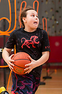 Middletown, New York - Basketball skills competition at the YMCA of Middletown on March 11, 2017.