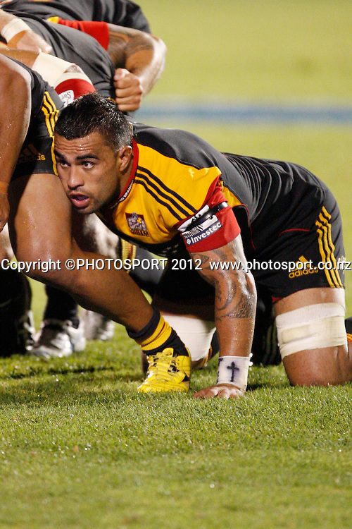 Liam Messam in action during their game at Baypark Stadium, Mt Maunganui, New Zealand. Friday,16 March 2012. Photo: Dion Mellow/photosport.co.nz