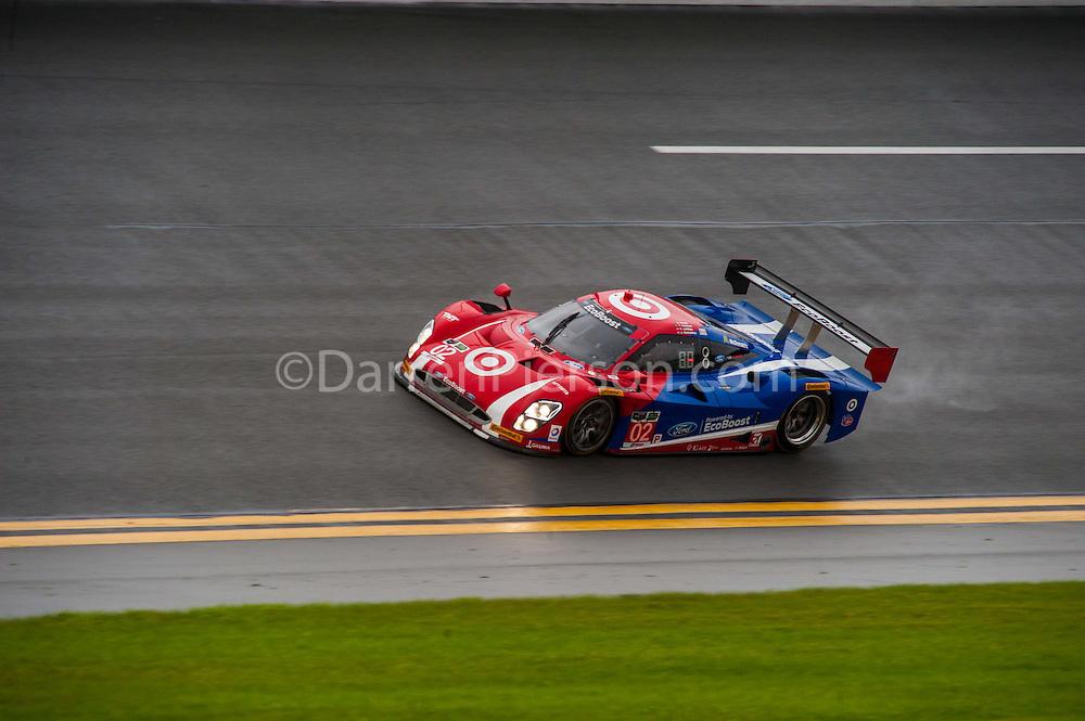#02 Chip Ganassi Racing with Felix Sabates Riley DP: Scott Dixon, Tony Kanaan, Kyle Larson, Jamie McMurray
