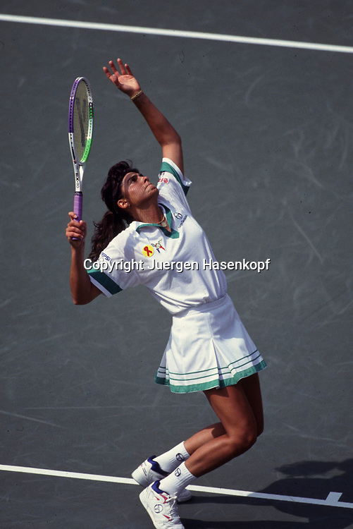 US Open 1992, Grand Slam Tennis Turnier in New York, Gabriela Sabatini (ARG),