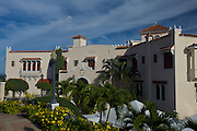 Serralles Castle museum on top of Vigia Hill February 21, 2009 in Ponce, Puerto Rico.