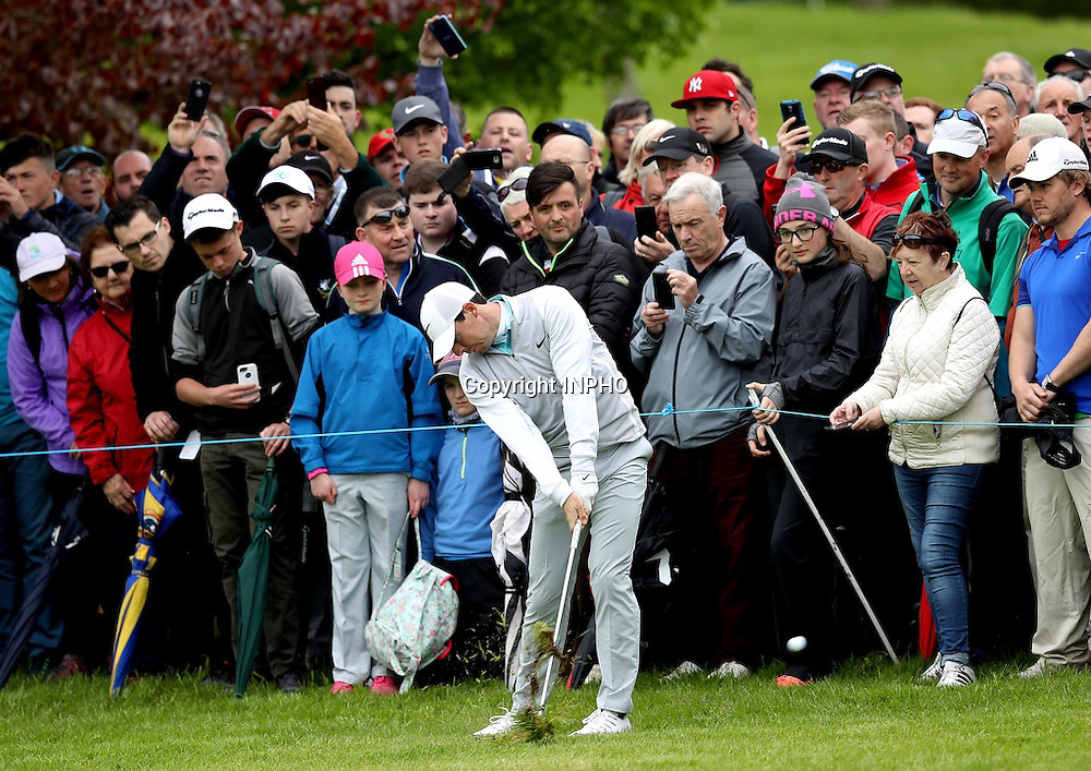 2016 Dubai Duty Free Irish Open Day 2, The K Club, Co. Kildare 20/5/2016<br /> Rory McIlroy at the 5th hole<br /> Mandatory Credit &copy;INPHO/Ryan Byrne