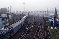 Togstasjonen i Irkutsk, train station