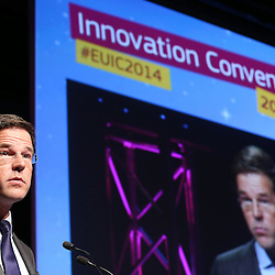 Belgium - Brussels - 10 March 2014 - Innovation Convention 2014 - Presidential session state of the innovation union address - Mark RUTTE , Prime Minister of the Netherlands ©EC/CE