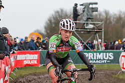 Elle Anderson (USA), Women, Cyclo-cross World Cup Hoogerheide, The Netherlands, 25 January 2015, Photo by Pim Nijland / PelotonPhotos.com