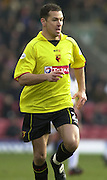 28/02/2004  -  Nationwide Div 1 Watford v Wimbledon.Scott Fitzgerald