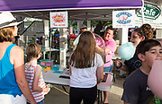 Popcorn and cotton candy is sold in Abita Springs Park before fireworks on July 2, 2017