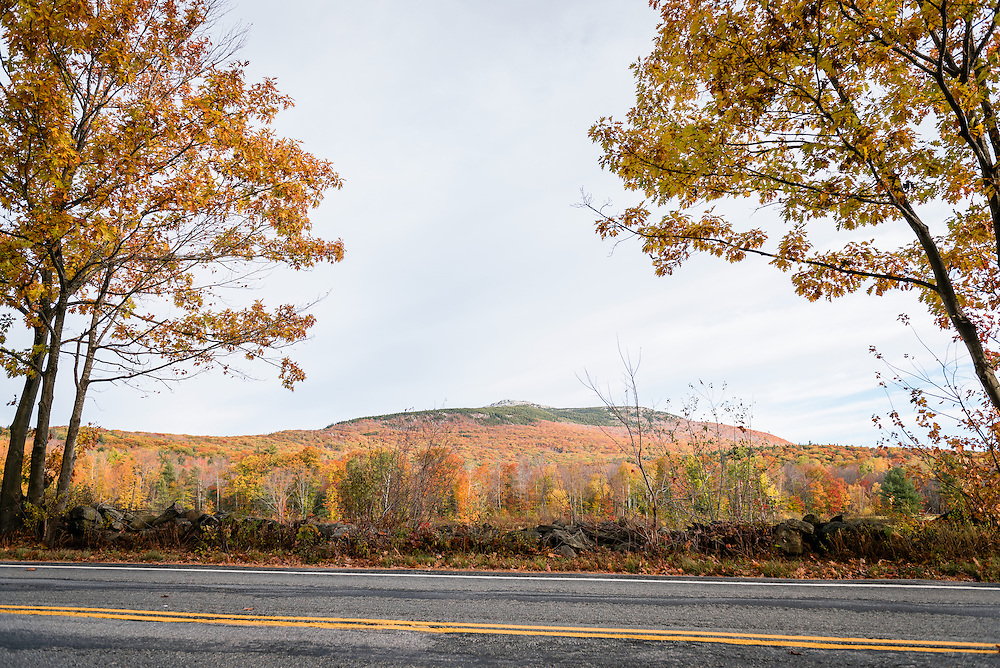 Mount Mondanock from the road, NH