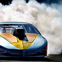 Germany, Hockenheim, 23-08-2003.<br /> Auto racing.<br /> Dragster race.<br /> Photo: Klaas Jan van der Weij.