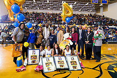 2015-16 A&T Women's Basketball vs NC Central (Senior Night)
