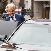 NLD/Amsterdam/20190115 - Koninklijke nieuwjaarsontvangst Nederlandse genodigden, Geert Wilders