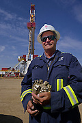 Mike Cannon, the drilling superintendent on this Statoil, run drilling rig some 5 miles south east of Williston. Statoil, Norway&rsquo;s biggest oil company, bought Brigham Exploration Co. for about $4.4 billion in cash, expanding in unconventional U.S. assets because of declining North Sea production.<br /> <br /> North Dakota oil boom. Based around the town of Williston, hydraulic fracturing, also known as 'fracking' has enabled a vast reserve of previously unobtainable oil to be accessed.