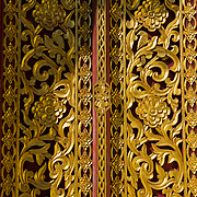 Ornate detail on Temple in Northern Thailand