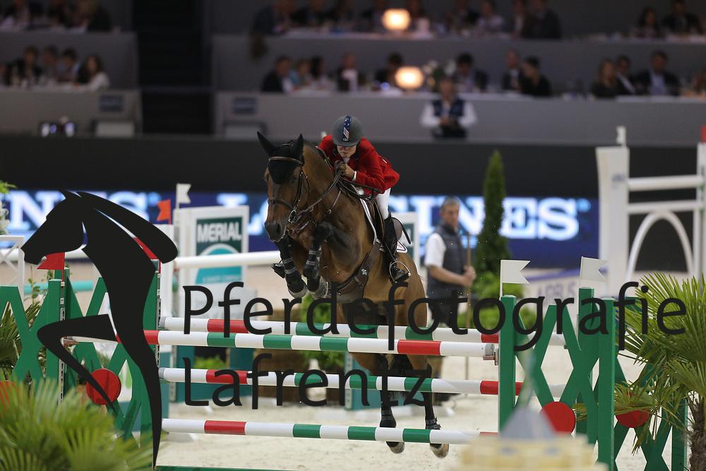 Burr-Howard, Leslie, Tic Tac<br /> Lyon - Weltcup Finale<br /> Finale II<br /> © www.sportfotos-lafrentz.de/Stefan Lafrentz