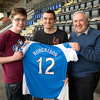 St Johnstone FC Players Sponsors Night...15.05.13<br /> David Robertson<br /> Picture by Graeme Hart.<br /> Copyright Perthshire Picture Agency<br /> Tel: 01738 623350  Mobile: 07990 594431
