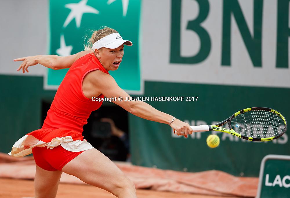 CAROLINE WOZNIACKI (DEN)<br /> <br /> Tennis - French Open 2017 - Grand Slam / ATP / WTA / ITF -  Roland Garros - Paris -  - France  - 6 June 2017.