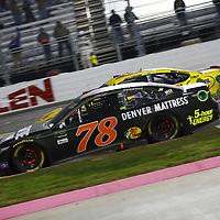 October 29, 2017 - Martinsville, Virginia, USA: Martin Truex Jr (78) battles for position during the First Data 500 at Martinsville Speedway in Martinsville, Virginia.