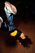 ©Naki Kouyioumtzis/ PYMCA<br />B-Boys, UK, Breakdancing championships, UK, 2004