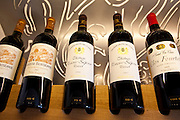 Fine wines Chateau Beausejour, Chateau Clos Fourtet, Chateau Beau-Sejour Becot at Vignobles et Chateaux wine merchant in St Emilion, Bordeaux, France