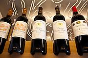 Fine wines Chateau Beausejour, Chateau Clos Fourtet, Chateau Beau-Sejour Becot at Vignobles et Chateaux wine merchant in St Emilion, Bordeaux, France