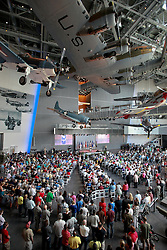 06 June 2014. The National WWII Museum, New Orleans, Lousiana. <br /> An event honoring WWII veterans presented with the French Legion of Honor medal.<br /> Photo; Charlie Varley/varleypix.com