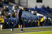 Nathan Jones of Stoke City looks dejected during the EFL Sky Bet Championship match between Sheffield Wednesday and Stoke City at Hillsborough, Sheffield, England on 22 October 2019.