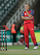 Lions player Ethan O' Reilly during match 18 of the Airtel CLT20 held between the Lions and Royal Challengers Bangalore at The Wanderers Stadium in Johannesburg on the 19 September 2010..Photo by: Abbey Sebetha/SPORTZPICS/CLT20