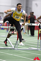 mens 60m hurdles, Terrence Gibson           SR Worcester St