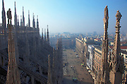 Milan:view from the Duomo
