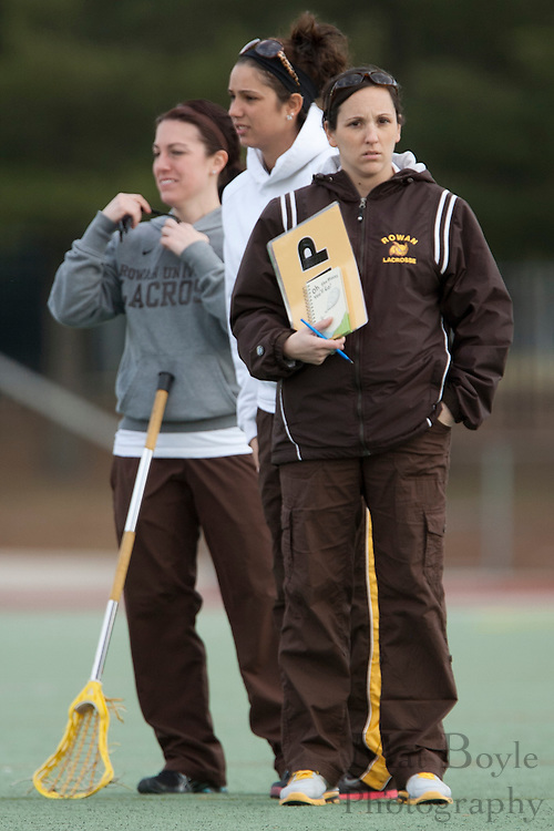 Rowan University  Women's Lacrosse Assistant Coaches with head coach Lindsay Delaney(R).