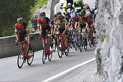 June 16, 2017 - Locarno / La Punt, Schweiz - VAN AVERMAET Greg (BEL) Rider of BMC Racing Team, CARUSO Damiano (ITA) Rider of BMC Racing Team during stage 6 of the Tour de Suisse cycling race, a stage of 166 kms between Locarno and La Punt on June 15, 2017 in La Punt, Switserland, 15/06/2017  (EQ Images) SWITZERLAND ONLY (Credit Image: © Vincent Kalut/EQ Images via ZUMA Press)