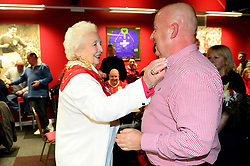 Marina Dolman opens the new Supporters club and trust bar - Mandatory by-line: Dougie Allward/JMP - 20/12/2017 - FOOTBALL - Ashton Gate Stadium - Bristol, England - Bristol City v Manchester United - Carabao Cup Quarter Final
