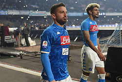 December 29, 2018 - Naples, Naples, Italy - Dries Mertens of SSC Napoli during the Serie A TIM match between SSC Napoli and Bologna FC at Stadio San Paolo Naples Italy on 29 December 2018. (Credit Image: © Franco Romano/NurPhoto via ZUMA Press)