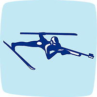 OLYMPIC GAMES VANCOUVER 2010 - VANCOUVER (CAN) - PHOTO : VANOC/COVAN / DPPI<br /> PICTOGRAMS - BIATHLON
