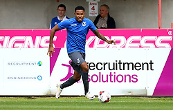 Cristian Montano of Bristol Rovers runs with the ball during the preseason friendly against Exeter City - Mandatory by-line: Robbie Stephenson/JMP - 16/07/2016 - FOOTBALL - St James Park - Exeter, England - Exeter City v Bristol Rovers - Pre-season friendly