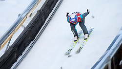 19.12.2014, Nordische Arena, Ramsau, AUT, FIS Nordische Kombination Weltcup, Skisprung, Training, im Bild Tim Hug (SUI) // during Ski Jumping of FIS Nordic Combined World Cup, at the Nordic Arena in Ramsau, Austria on 2014/12/19. EXPA Pictures © 2014, EXPA/ JFK