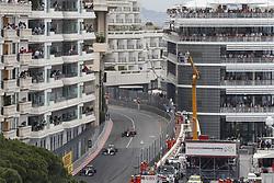 May 26, 2019 - Monte Carlo, Monaco - Motorsports: FIA Formula One World Championship 2019, Grand Prix of Monaco, ..#44 Lewis Hamilton (GBR, Mercedes AMG Petronas Motorsport), #77 Valtteri Bottas (FIN, Mercedes AMG Petronas Motorsport), #33 Max Verstappen (NLD, Aston Martin Red Bull Racing) (Credit Image: © Hoch Zwei via ZUMA Wire)
