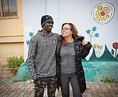 Sambou e Maria Letizia, un altro modello di accoglienza.