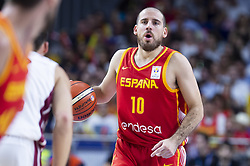 September 17, 2018 - Madrid, Spain - Joaquin Colom of Spain during the FIBA Basketball World Cup Qualifier match Spain against Latvia at Wizink Center in Madrid, Spain. September 17, 2018. (Credit Image: © Coolmedia/NurPhoto/ZUMA Press)